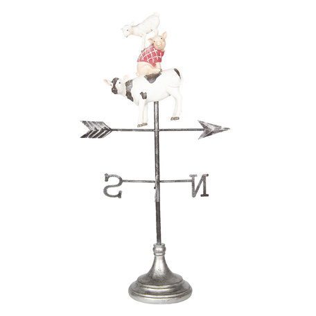 Decoratie windwijzer 31*24*62 cm Meerkleurig | 5PR0050 | Clayre & Eef