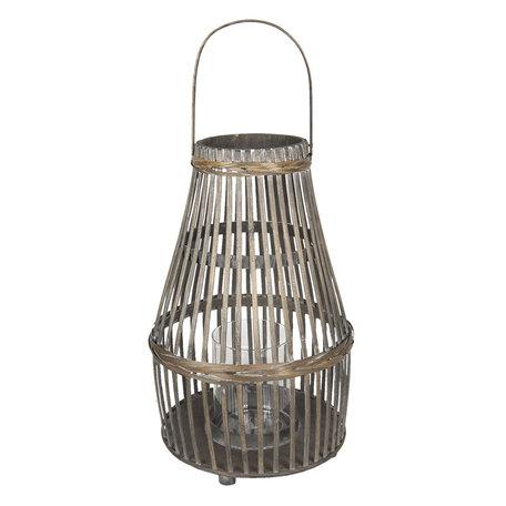 Windlicht ø 28*62 cm Bruin | 5RO0094 | Clayre & Eef