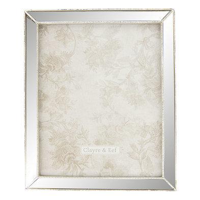 Fotolijst 24*2*29 cm / 20*25 cm Zilverkleurig | 2F0579 | Clayre & Eef