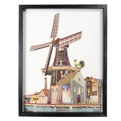 Schilderij 64*4*82 cm Multi | 50316 | Clayre & Eef