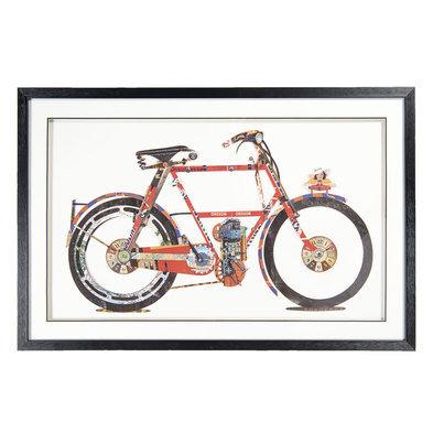 Schilderij 107*4*69 cm Multi | 50318 | Clayre & Eef