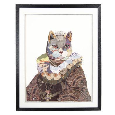 Schilderij 72*4*90 cm Meerkleurig | 50321 | Clayre & Eef