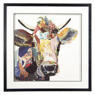 Schilderij 65*3*65 cm Meerkleurig | 50322 | Clayre & Eef