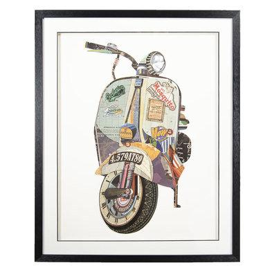 Schilderij 72*4*90 cm Meerkleurig | 50323 | Clayre & Eef