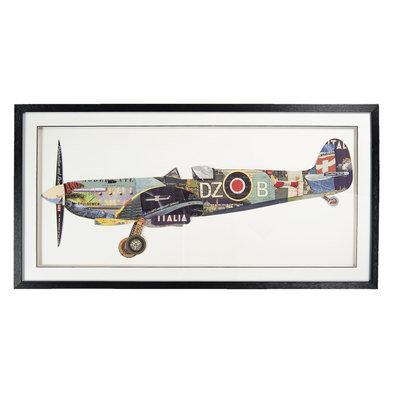 Schilderij 130*4*65 cm Meerkleurig | 50328 | Clayre & Eef