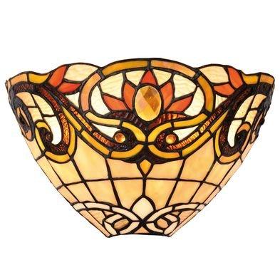 Wandlamp Tiffany 30*15*20 cm E14/max 1*40W Meerkleurig | 5LL-5778 | Clayre & Eef