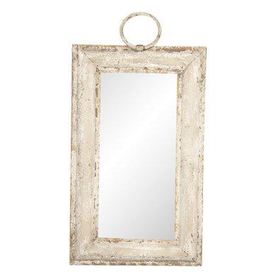 Spiegel 31*3*53 cm Wit | 62S146 | Clayre & Eef