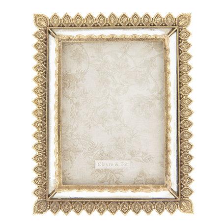 Fotolijst 19*2*23 cm / 13*18 cm Goudkleurig | 2F0583 | Clayre & Eef