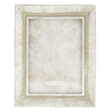 Fotolijst 18*2*23 cm / 13*18 cm Zilverkleurig | 2F0585 | Clayre & Eef