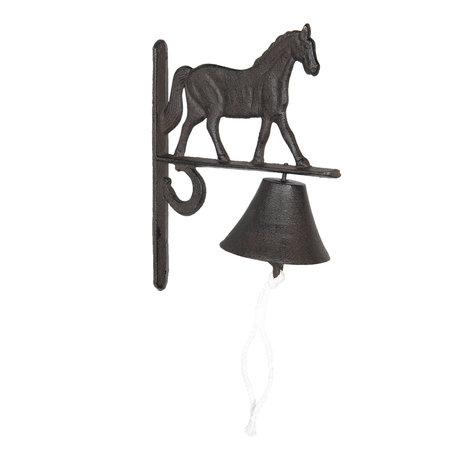 Bel paard 20*11*27 cm Bruin | 6Y3027 | Clayre & Eef
