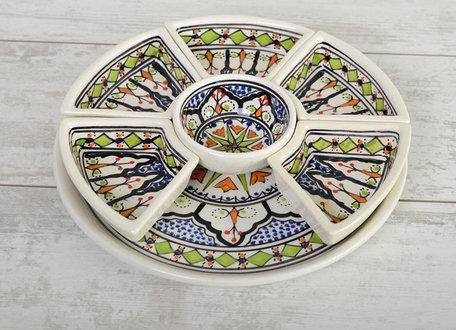 Tapas schaal Azis 8 delig Ø 30 cm | TS.AZ.35 | Dishes & Deco