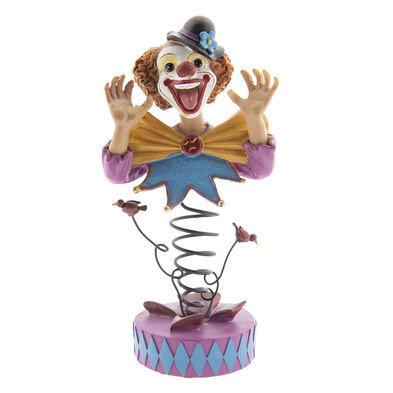 Decoratie clown 11*10*22 cm Meerkleurig | 6PR2363 | Clayre & Eef