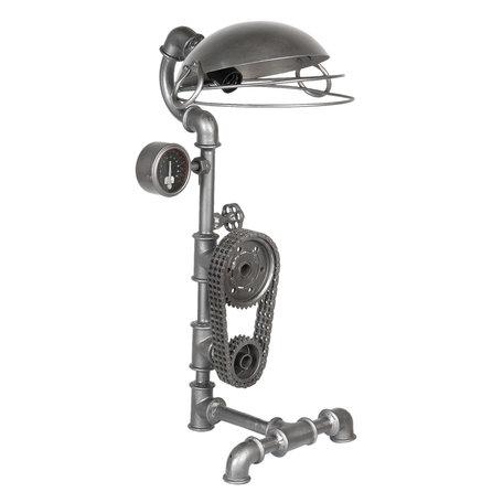 Tafellamp 36*29*69 cm E27/max 1*40W Bruin | 5LMP270 | Clayre & Eef