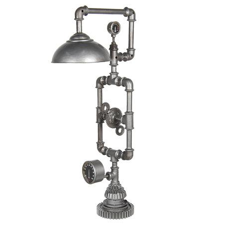 Vloerlamp 26*46*98 cm E27/max 1*40W Grijs | 5LMP271 | Clayre & Eef