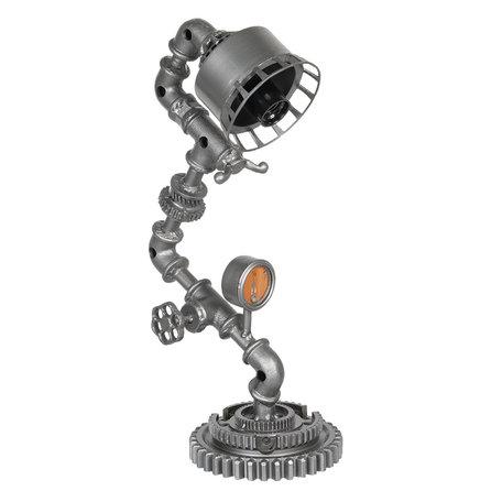 Tafellamp 25*15*48 cmE27/max 1*25W Grijs | 6LMP604 | Clayre & Eef