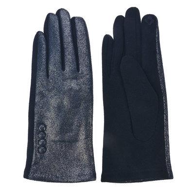 Handschoenen 8*24 cm Blauw | MLGL0035BL | Clayre & Eef