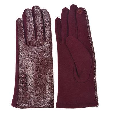 Handschoenen 8*24 cm Rood | MLGL0035BU | Clayre & Eef