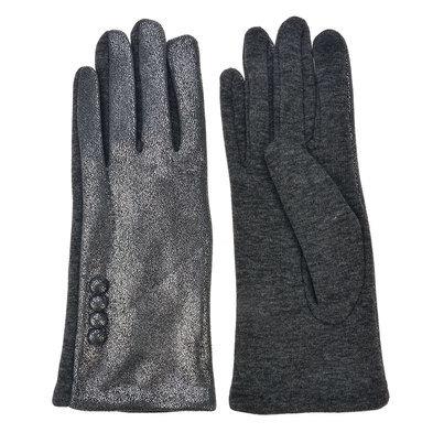 Handschoenen 8*24 cm Grijs | MLGL0035G | Clayre & Eef