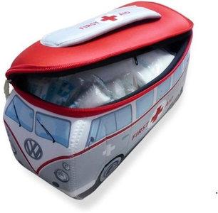 EHBO Koffertje Rood Met Grijs VW Volkswagen T1 | Brisa